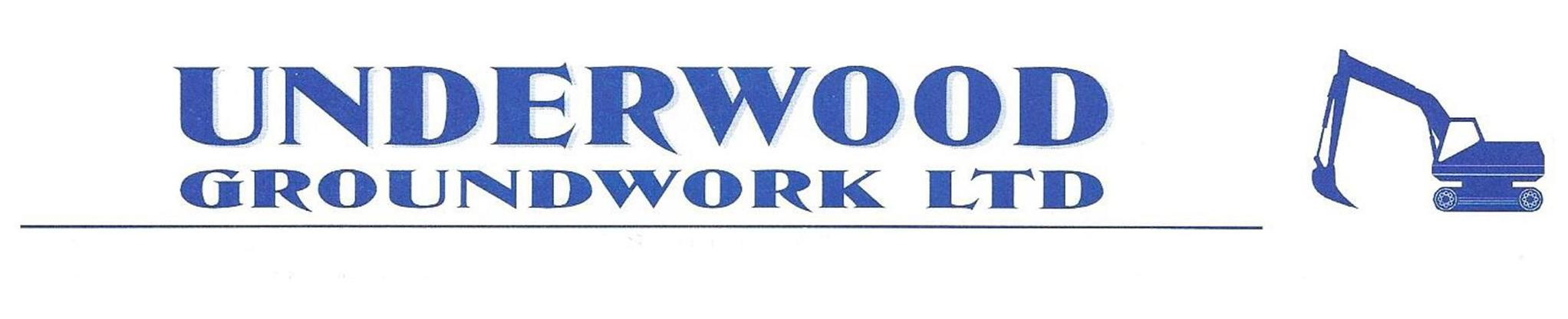 Underwood Groundworks logo
